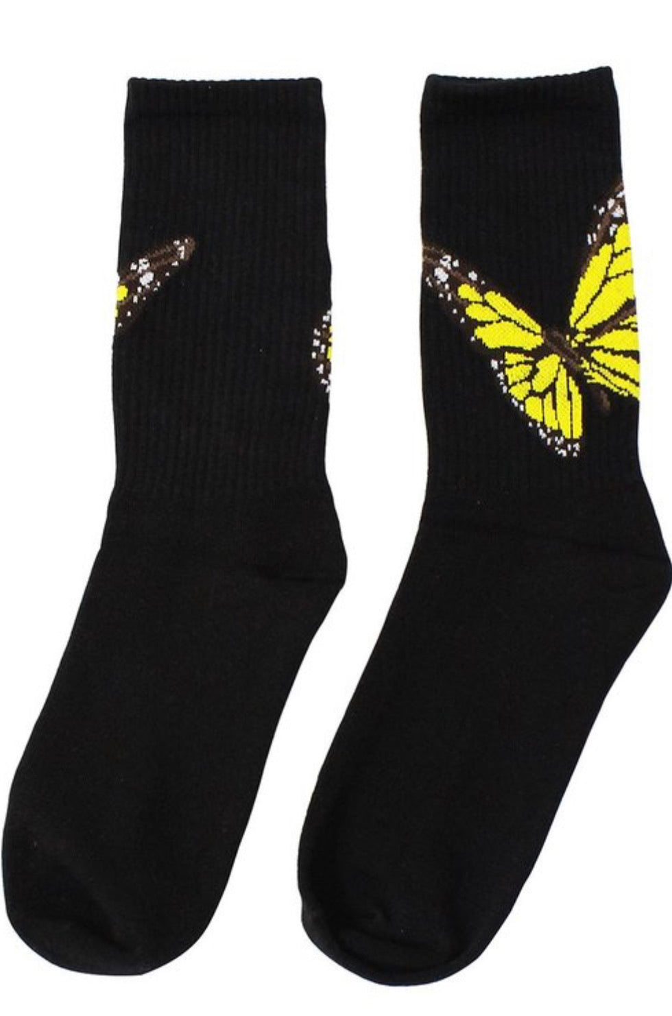 Butterfly Socks (Black)
