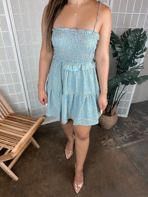 Lizzy Dress (Light Blue)