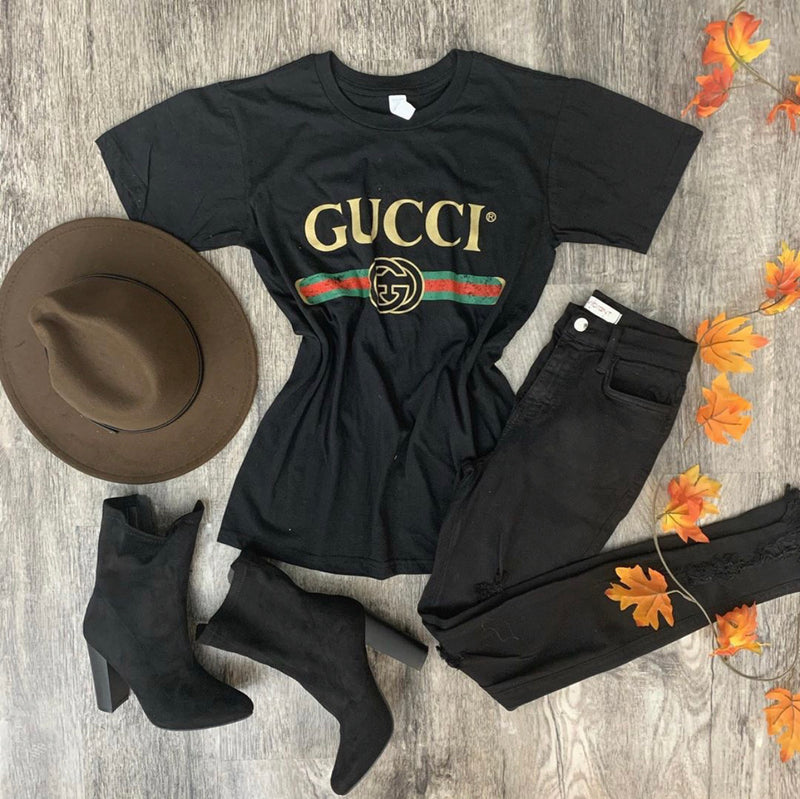 Gucci Inspired Tee (Black)