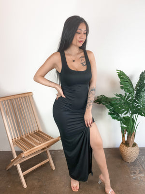 Kourtney Maxi Dress (Black)