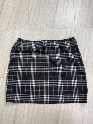 *Defective* Clueless Plaid Set (Black) - SKIRT ONLY