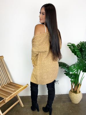 Coffee Date Cardigan (Camel)