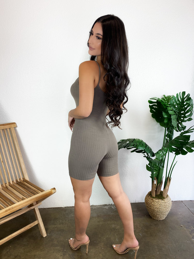 Layla Jumpsuit (Taupe)