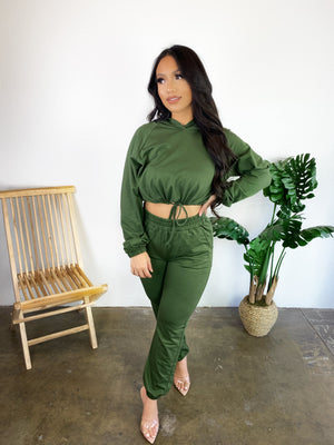 Isabella Joggers (Olive)