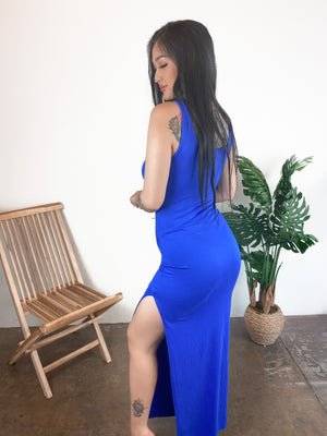 Kourtney Maxi Dress (Royal Blue)