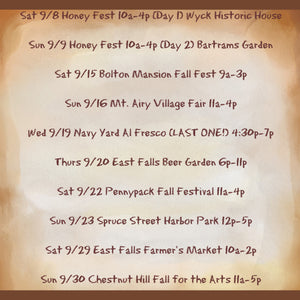 September Local Events - Fill in Your Calendars