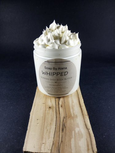 ***2nd PRE-ORDER*** Whipped Scented Shea Body Butters