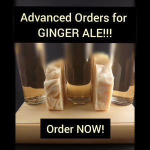 ***Advanced Pre-order*** Ginger Ale Soap