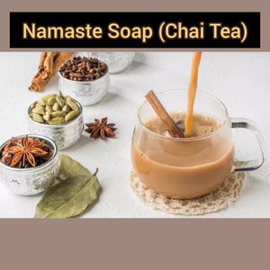 Namaste (Chai Tea) Soap