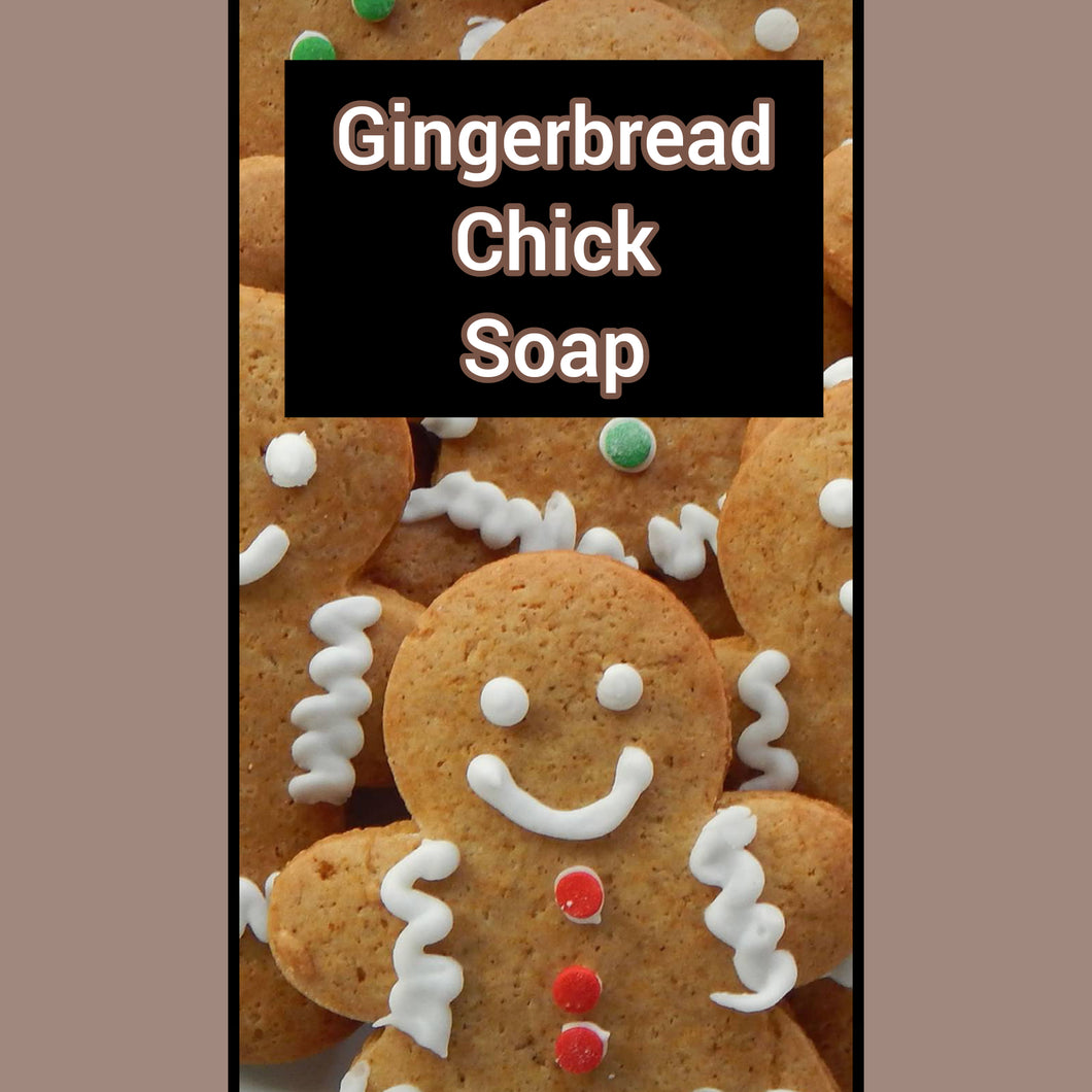 Gingerbread Chick Soap