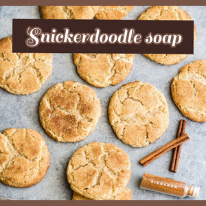 Snickerdoodle soap