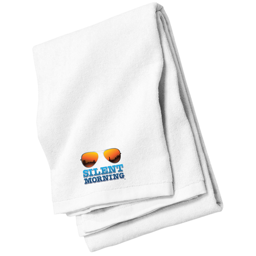 Silent Morning Beach Towel