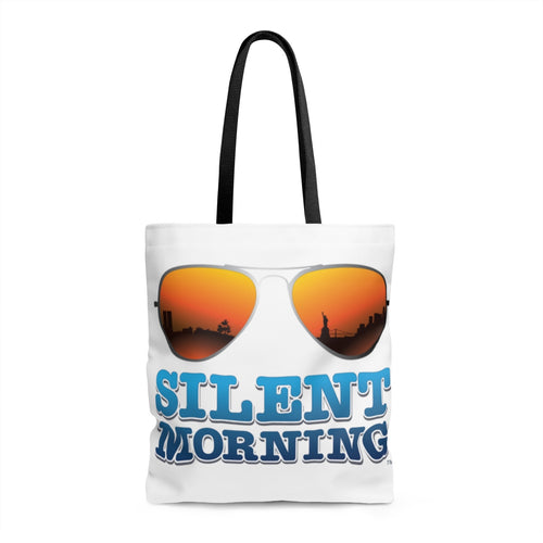Silent Morning Beach Shoulder Swimwear Tote Bag