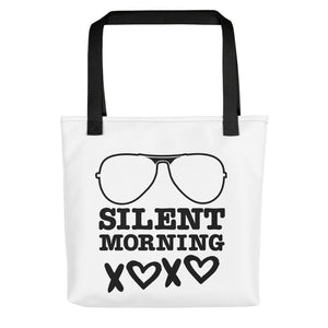 Silent Morning Tote bag