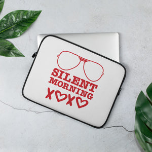 Silent Morning Xoxo Laptop Sleeve