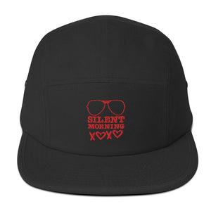 Silent Morning Xoxo Five Panel Cap Red