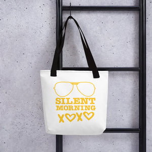 Silent Morning Xoxo Tote bag