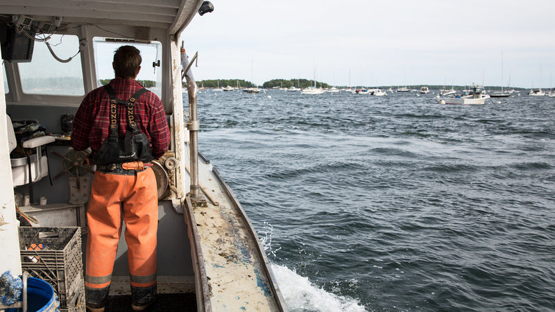 Appreciating Maine Lobstermen on Labor Day
