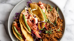 Maine Lobster Truffle Tacos