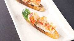 Maine Lobster Bruschetta