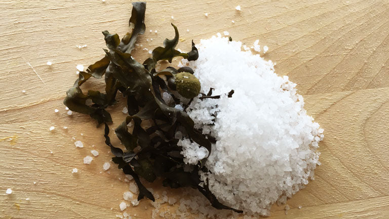 How to use our Sea Salt and Seaweed Pack
