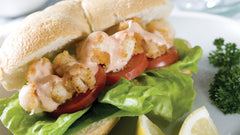 Scallop Po'Boy