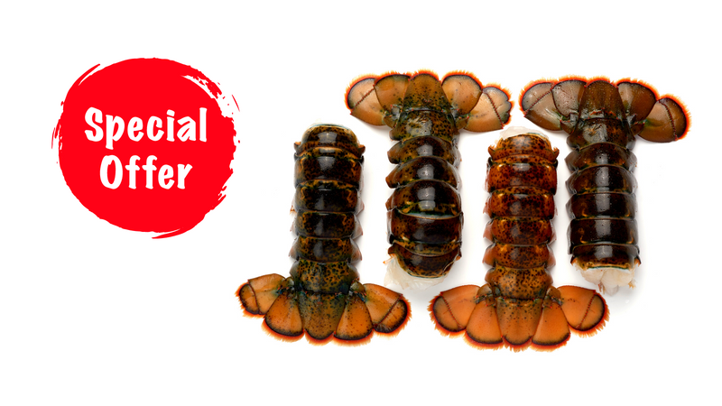 SOLD OUT: Tail-Lovers Power Pack: 12 SWEET Lobster Tails (4-5 oz.)