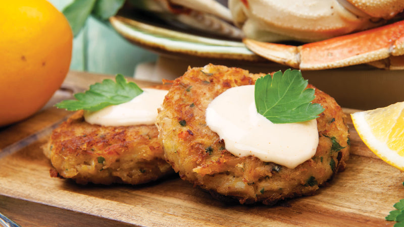 Air Fryer Crab Cakes Get Maine Lobster