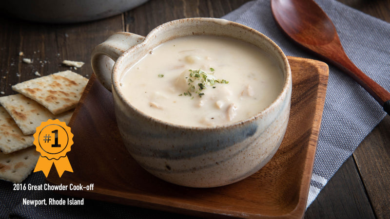 Hurricane's Award-winning Clam Chowder