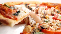 Grilled Lobster Pizza