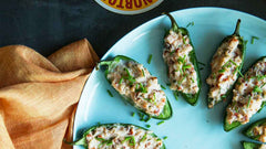 Lobster and Bacon Stuffed Jalapeno Bites