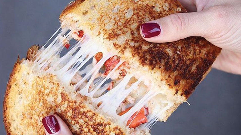 Curry Lobster Grilled Cheese