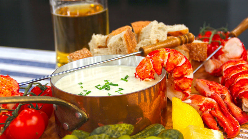 Maine Lobster Fondue