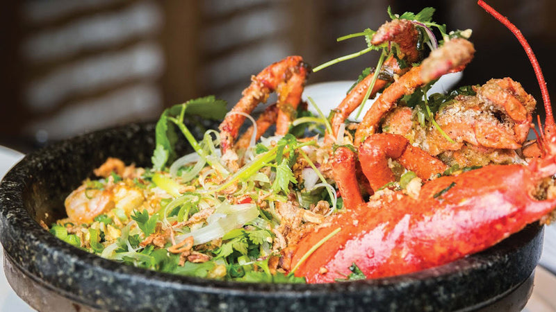 Maine Lobster Fried Rice