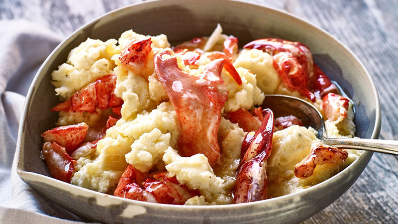 Maine Lobster Mash Potatoes