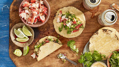Spicy Lobster Tacos