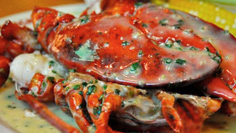 Holiday Pan-roasted Lobster in Exotic Mushroom Sauce