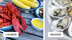 Buy 4 Maine Lobster Tails (5-6 oz), Get 4 Beef Wellingtons FREE