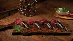 Buy Four 6 oz Filets, Get 8 Lobster Tails FREE