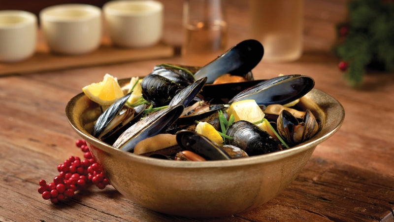 2lbs Fresh Mussels