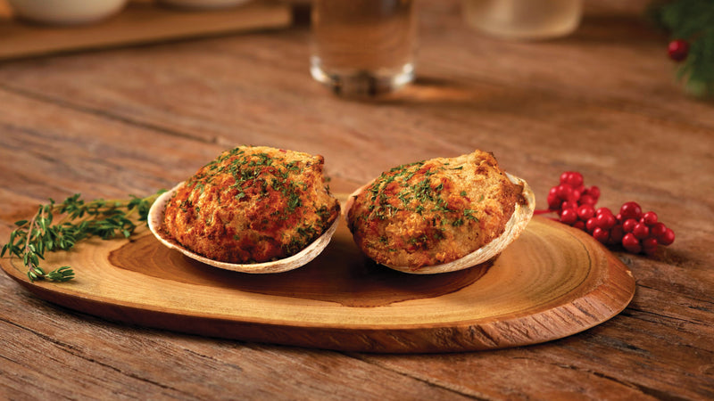 12 Stuffed Clams