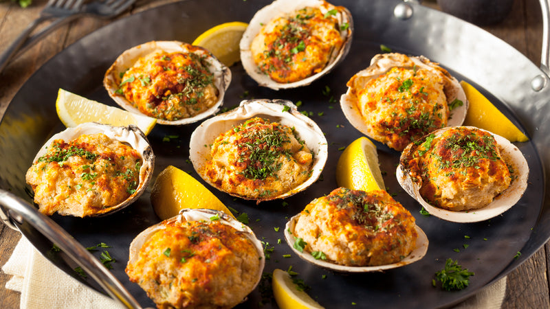 2 Stuffed Clams