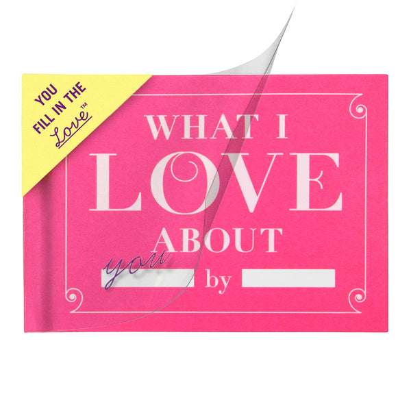What I Love About You Activity Book