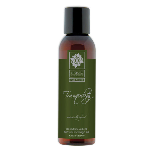 Sliquid Organics Massage Oil Tranquility 4.2oz