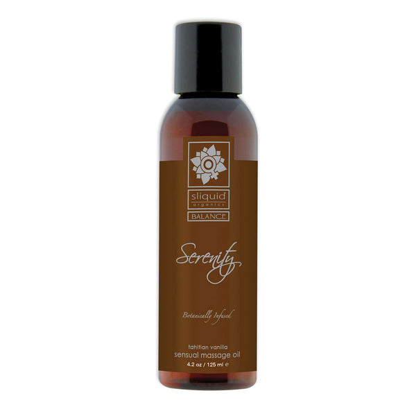 Sliquid Organics Massage Oil Serenity 4.2oz