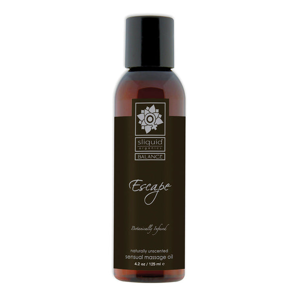 Sliquid Organics Massage Oil Escape 4.2oz
