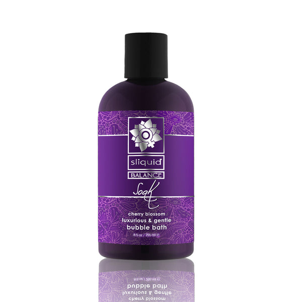 Sliquid Balance Soak - Cherry Blossom 8oz