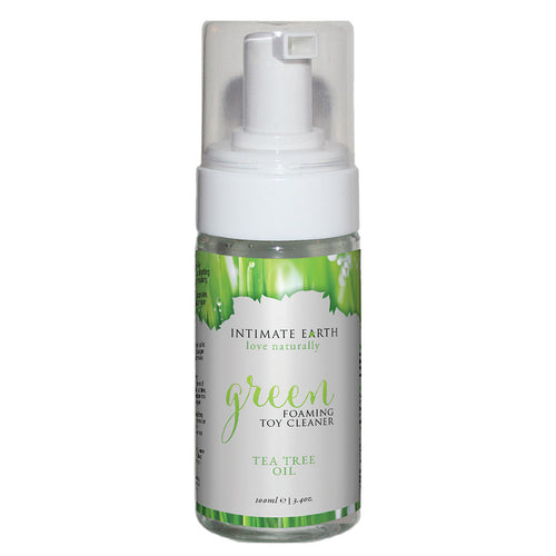 Intimate Earth Green Tea Foaming Toy Cleaner 100ml