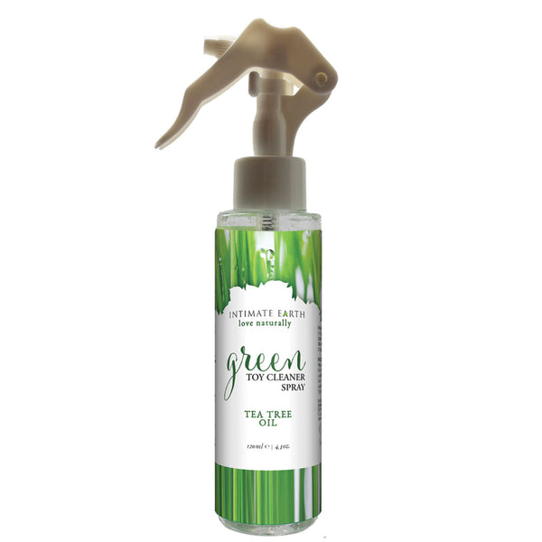 Intimate Earth Green Tea Toy Cleaner Spray 125ml - MedAmour