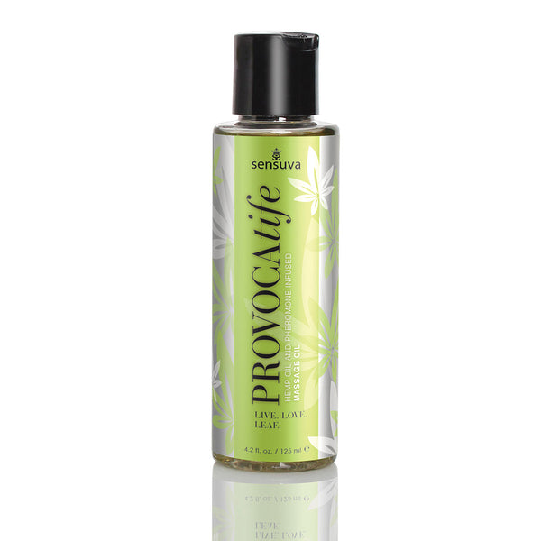 Sensuva Provocatife Hemp Massage Oil 4.2oz